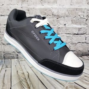 Crocs Karlson Golf Shoes Men's Size 7 M Black Blue